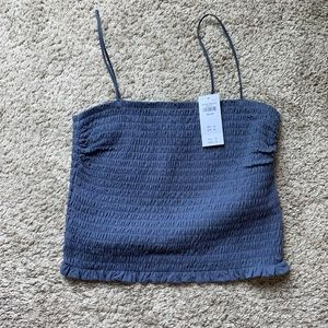Abercrombie & Fitch rouched crop
